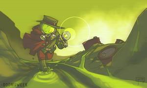 Doomsweek the Irradiated Detective