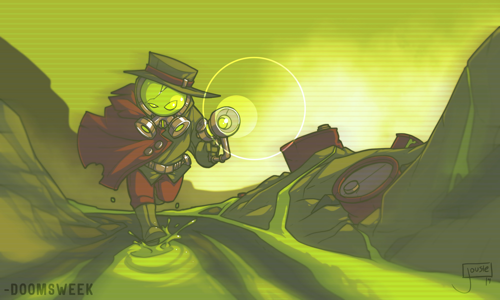 Doomsweek the Irradiated Detective by jouste