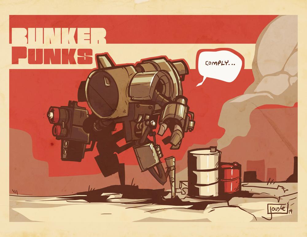 Shane Neville's Bunker Punks by jouste