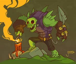 Viking Squad: Draugr Ritualist by jouste