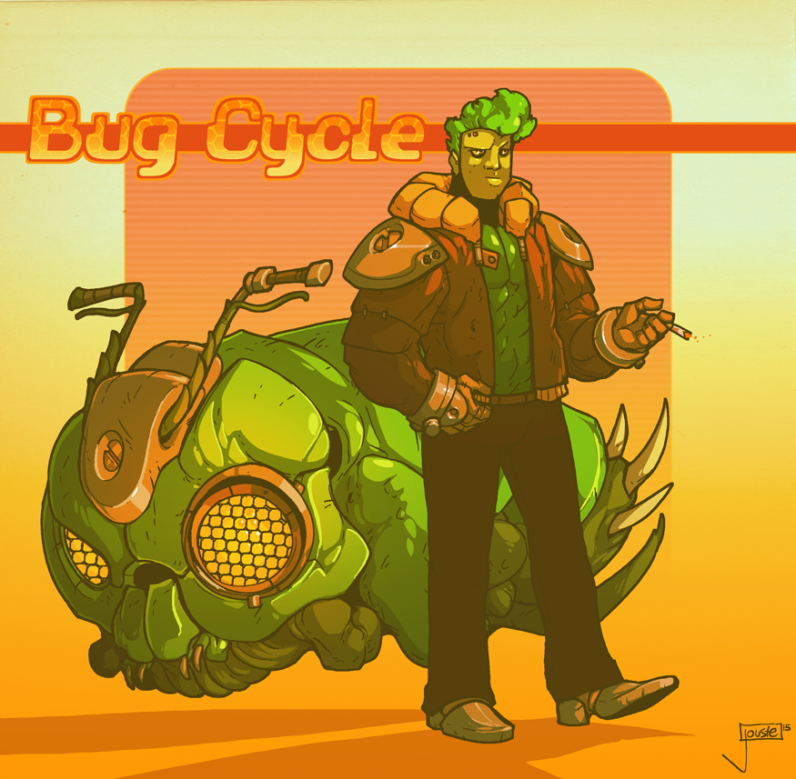Bug Cycle by jouste