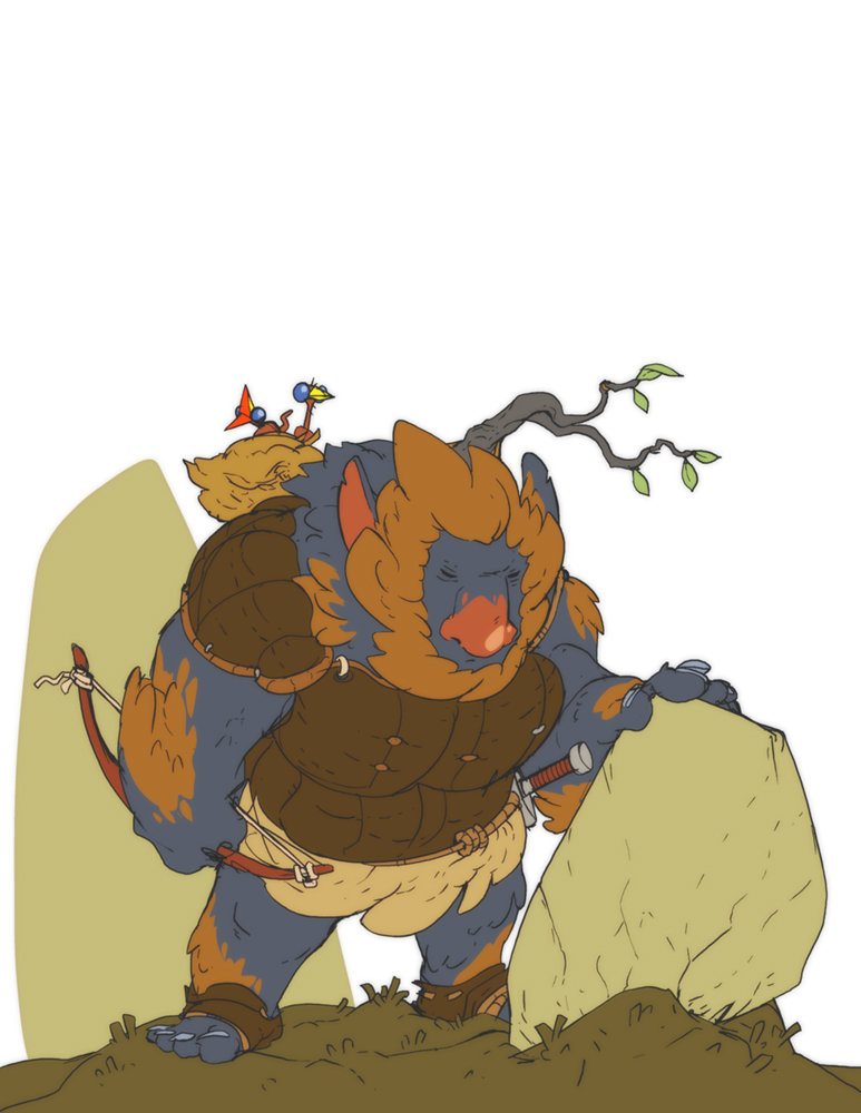 Dago the Firbolg Ranger by jouste