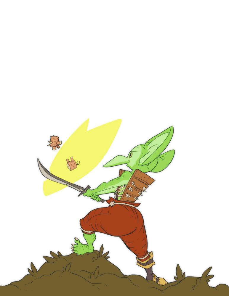 Jilk the Goblin Warrior by jouste