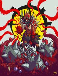 Darkest Dungeon's Flagellant by jouste