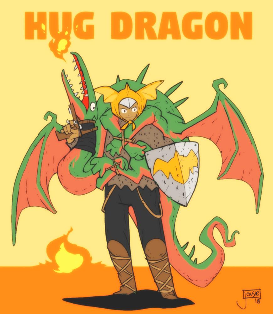 Hug Dragon by jouste