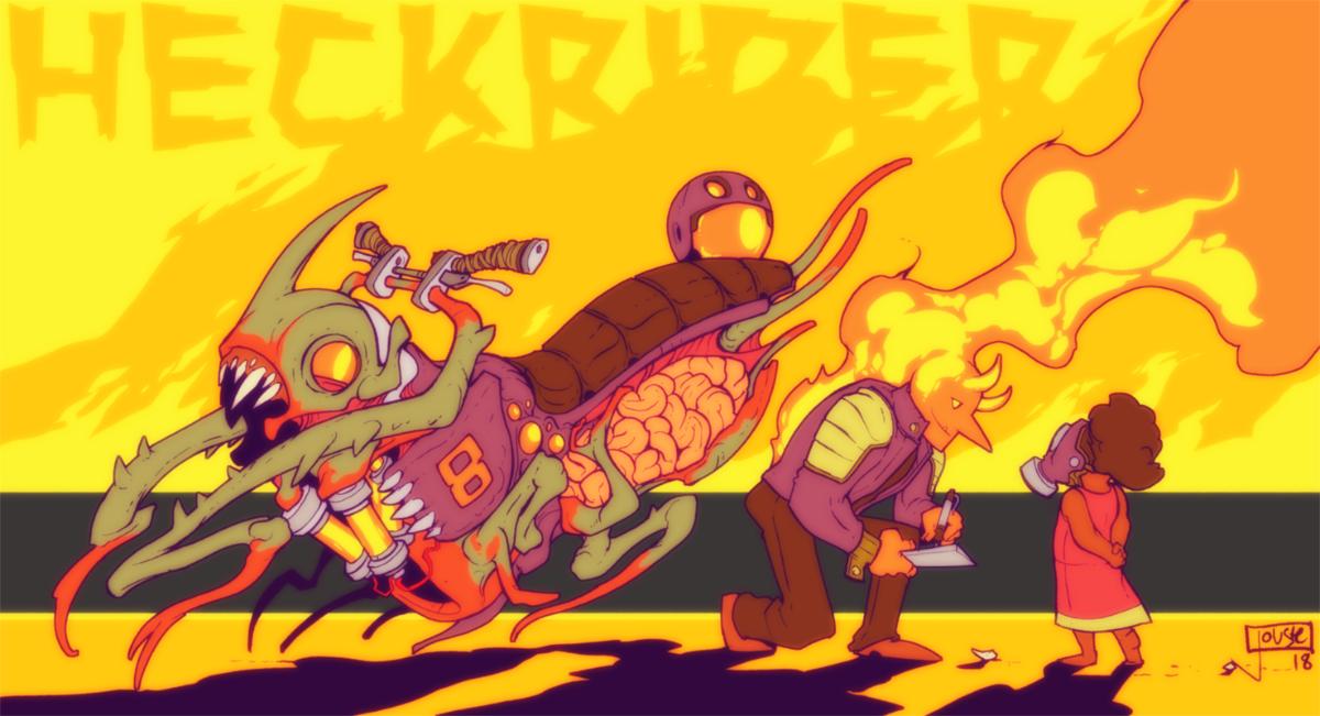 Heckrider by jouste