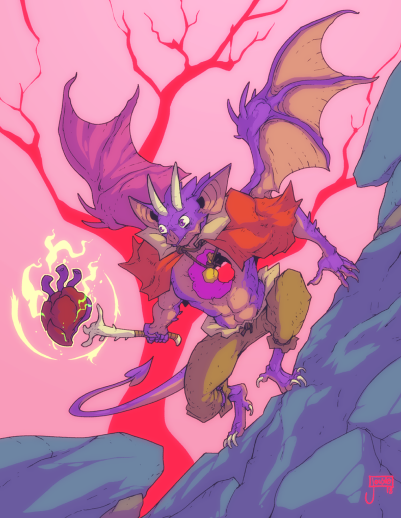 Batsoul, wielder of his own heart by jouste