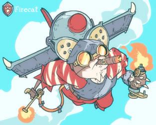 Sky Duels: Firecat by jouste