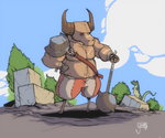 A Quick Minotaur