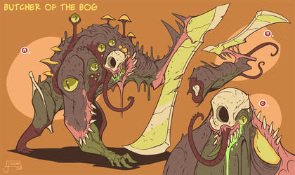 Bog creature exploration for Griftlands