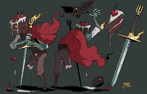 Gateau the Black Forest Knight