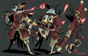 Cybeak, Ravenbot Samurai