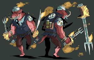 Gluts the Seasoned Warrior