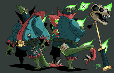 The Stega-sorcerus