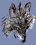 Blue-brown-wolf