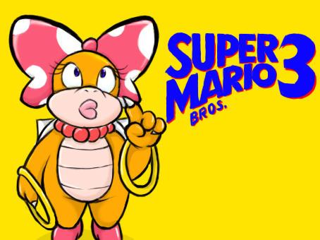 Wendy O Koopa Mario bros 3