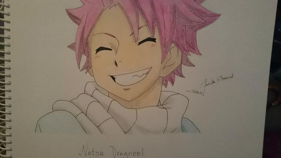 Natsu Dragneel from Fairy tail by StarsMoonWolf-Lover
