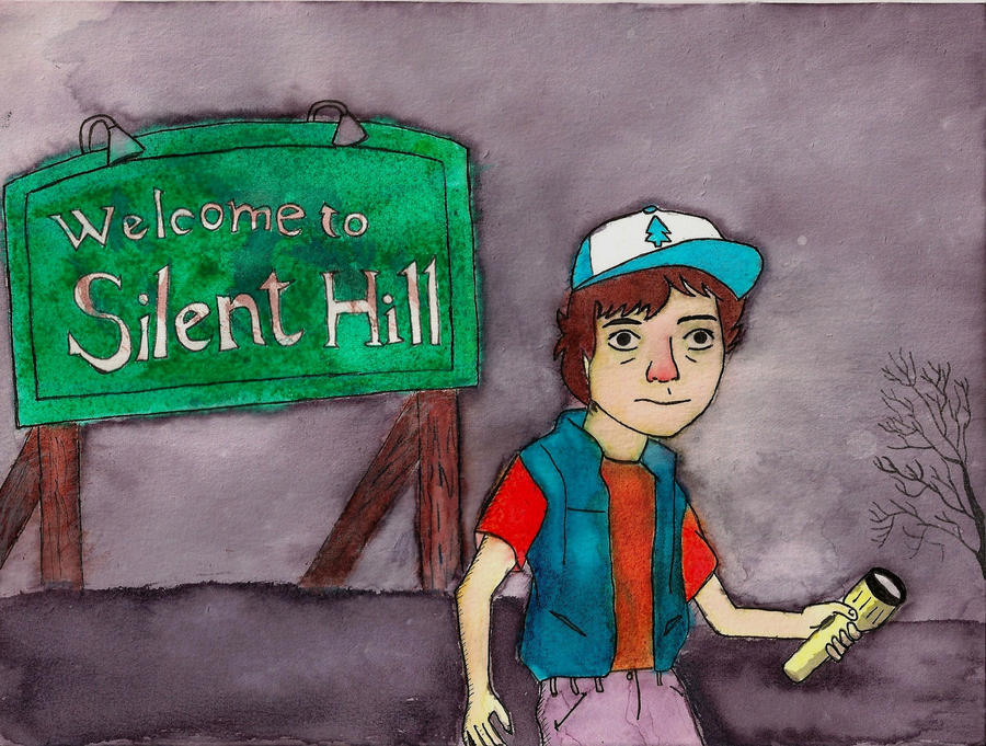 Dipper Pines in Silent Hill