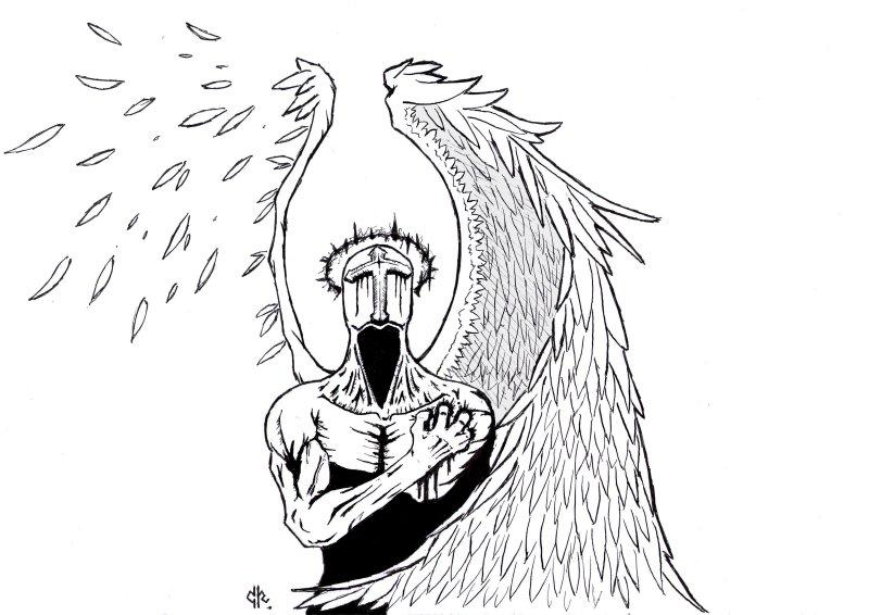 Angel by TheAzathoth