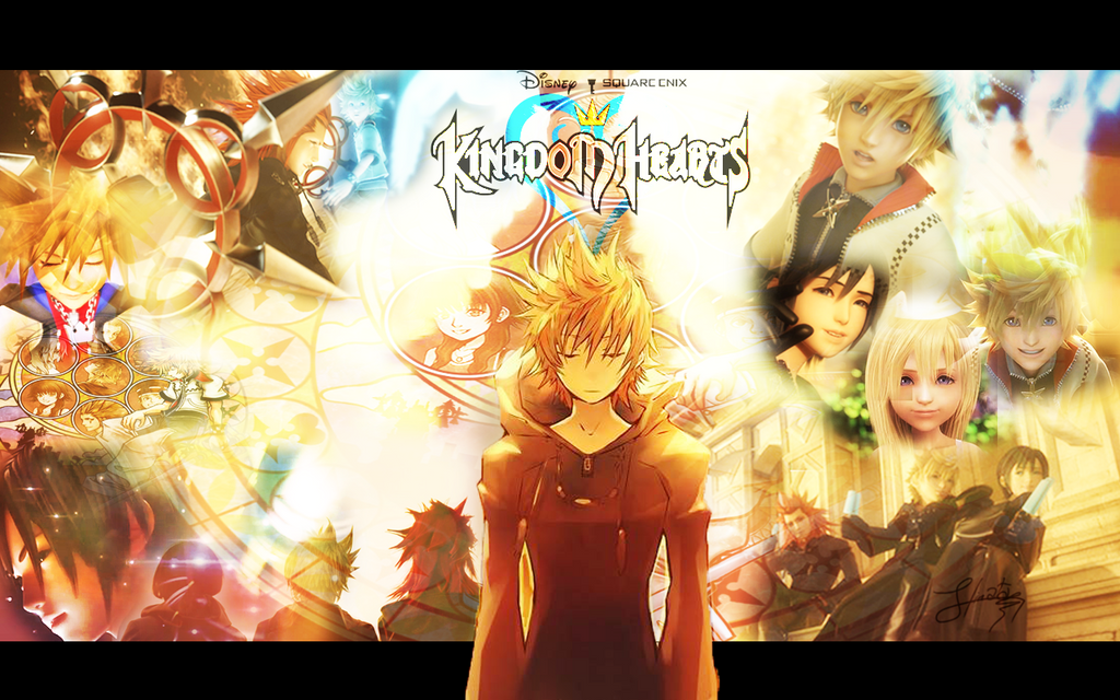 Kingdom Hearts Wallpaper Roxas By KaoYoruse On DeviantArt
