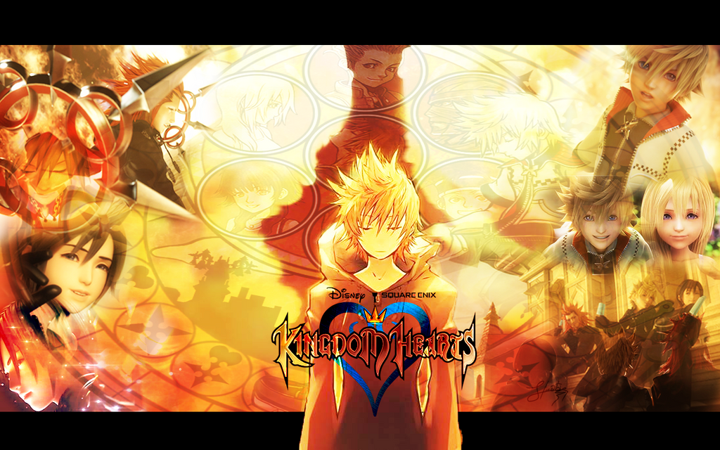 Kingdom Hearts Wallpaper Roxas Twilight Town By KaoYoruse On DeviantArt