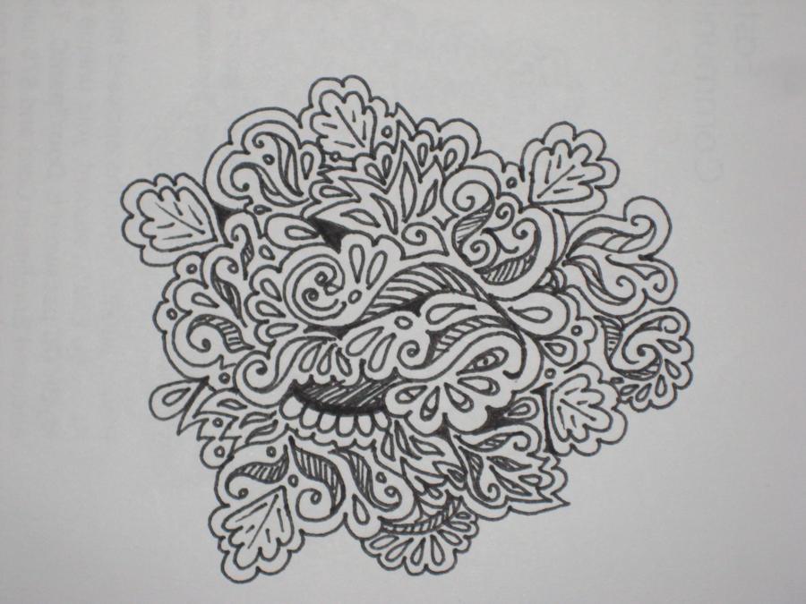 Zentangles Patterns Step By Step Zen Doodle - Complex 1...
