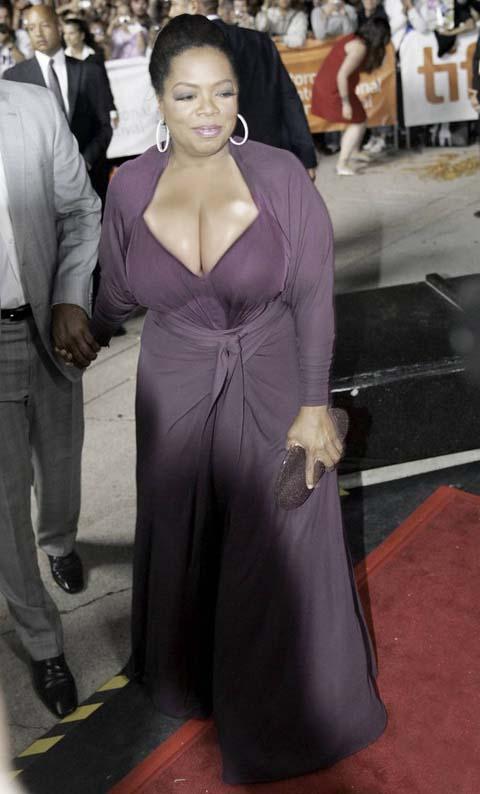 Oprahs big breast pictures
