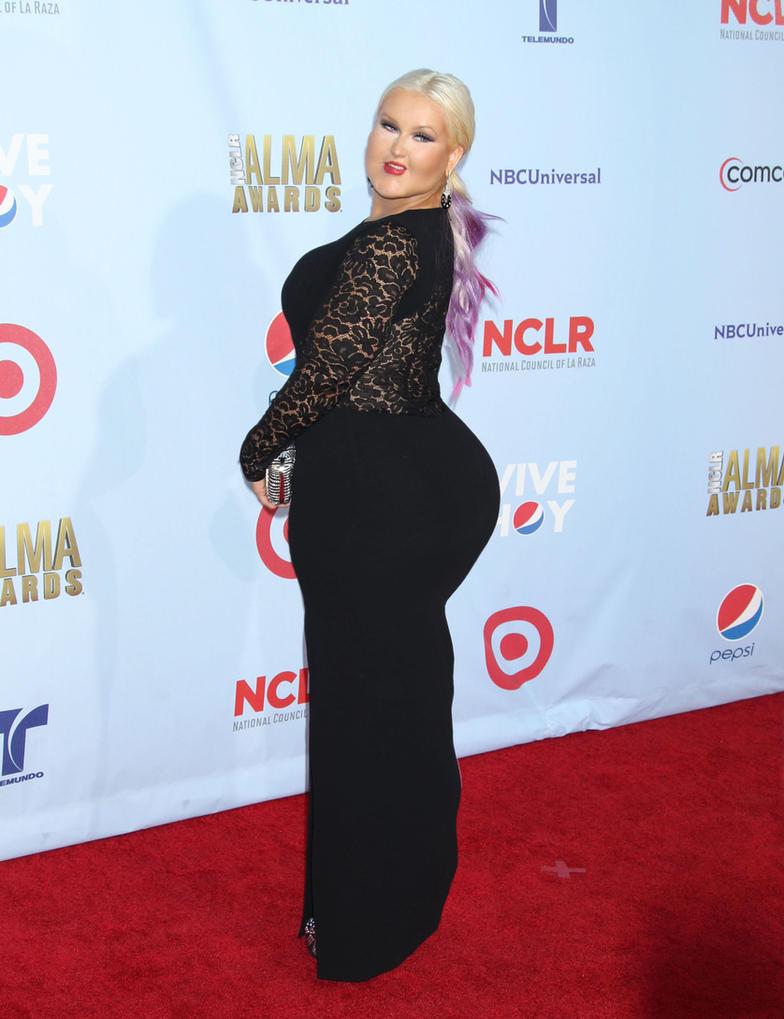 Christina Aguilera Ups... Christina Aguilera Weight