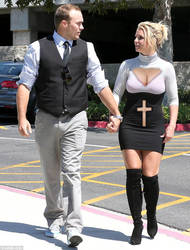 Britney Spears out to Church by AMac145