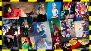 Cosplayers' Wallpaper by AMac145