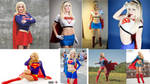 Cosplay Comparison - Supergirl by AMac145