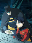midnight snack in the batcave