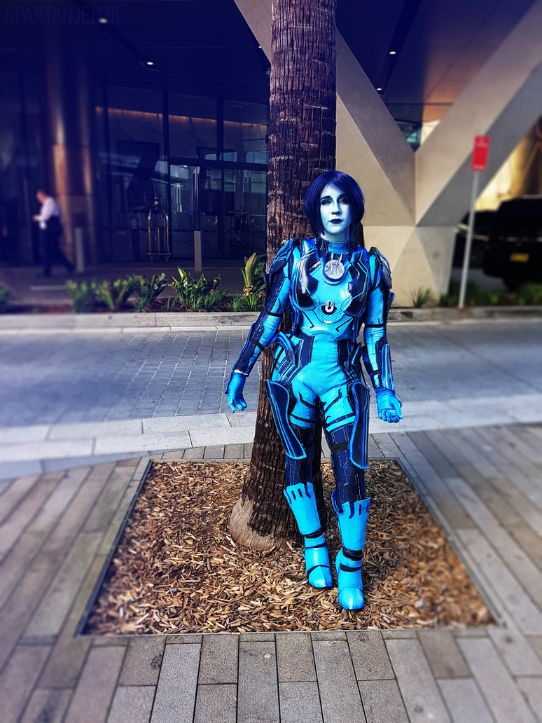 halo 5 cortana cosplay by spartanjenzii
