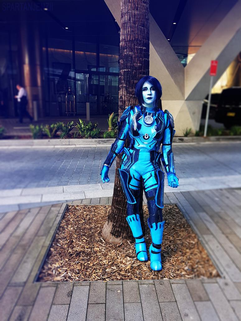 halo 5 cortana cosplay by spartanjenzii