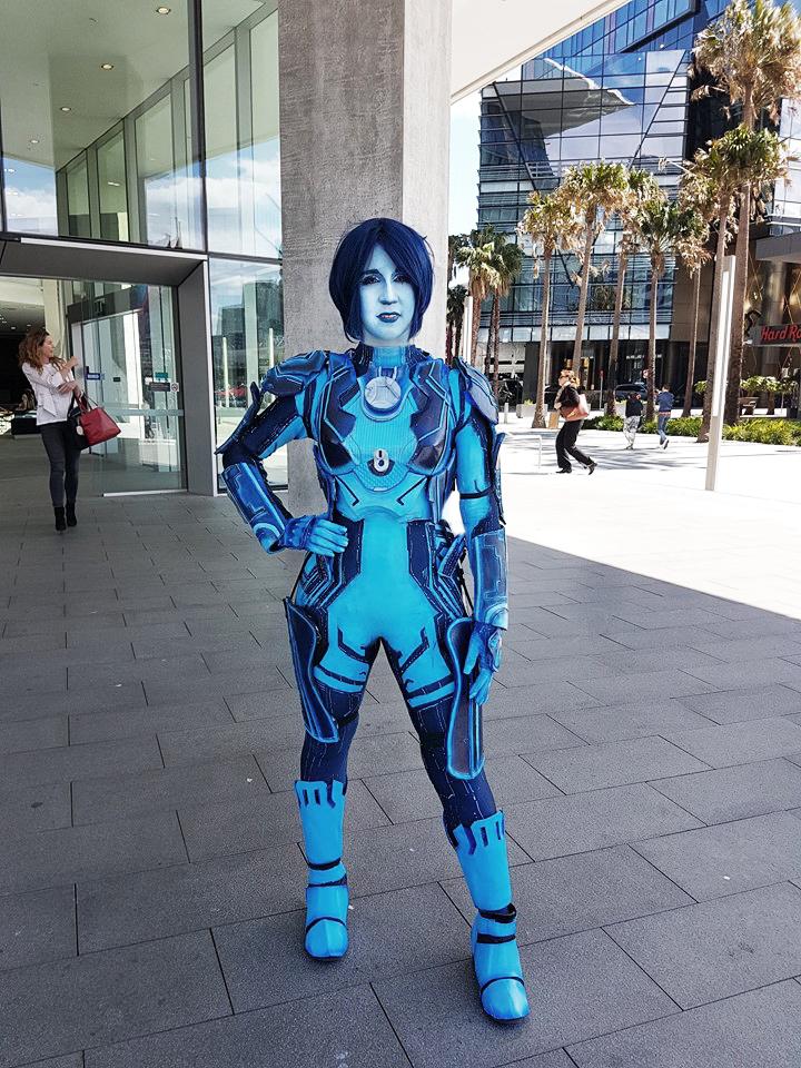 Cortana Cosplay By Spartanjenzii On Deviantart
