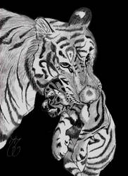 Tigress N Cub