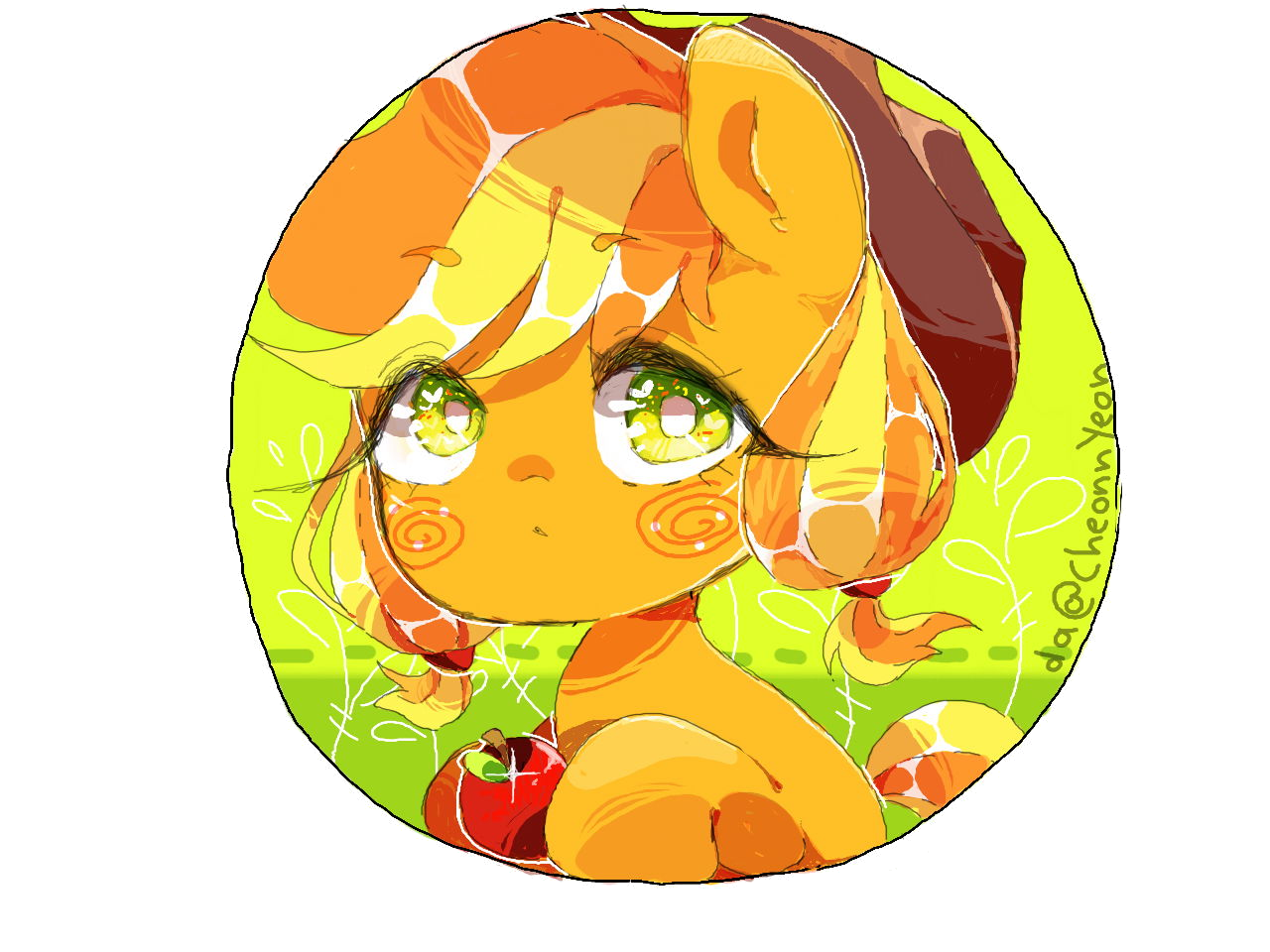5594 applejack my little - photo #35