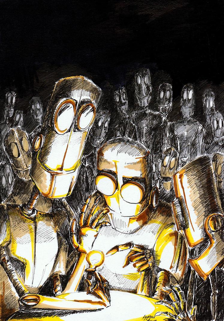 robots by KuzAnna