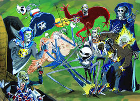 skeletons party