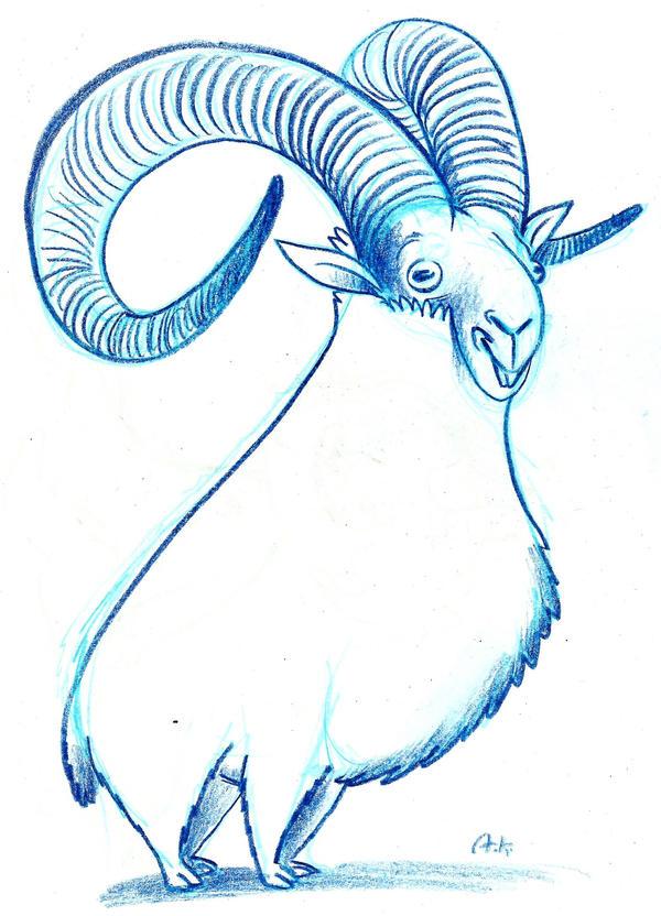Sheep by KuzAnna