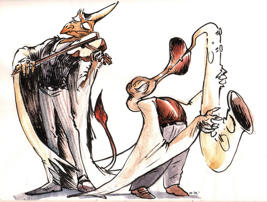 Watercolor 5 by KuzAnna