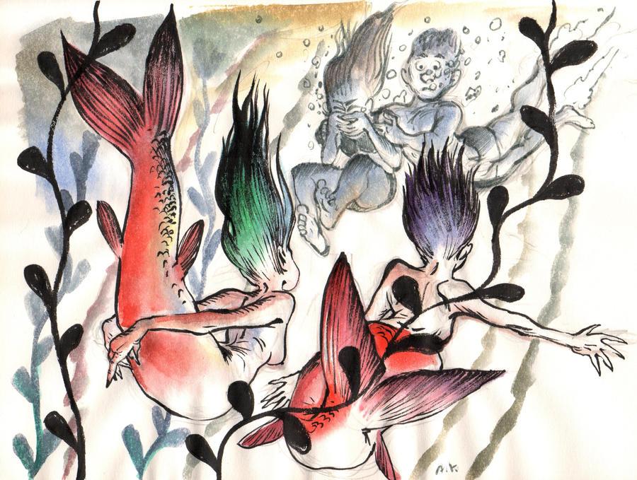 Watercolor 6 by KuzAnna