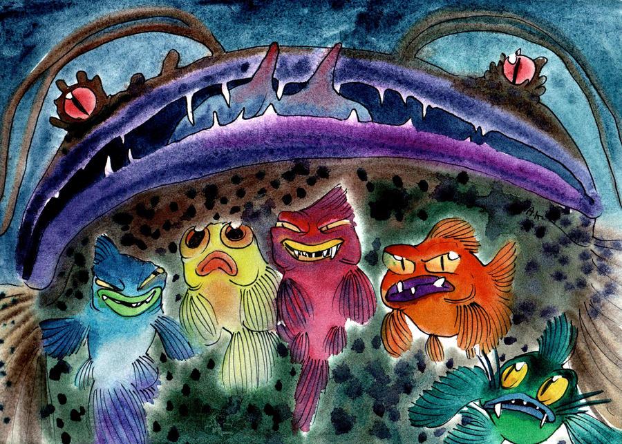 Watercolor 44 by KuzAnna
