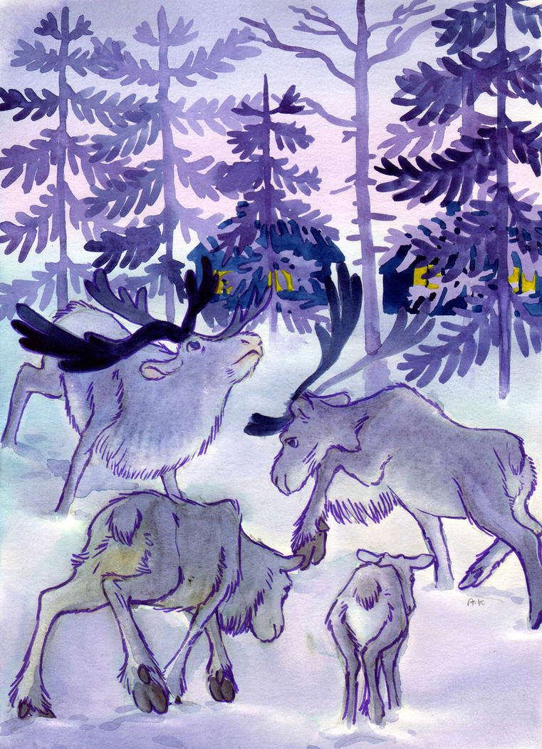 Finnish winter by KuzAnna