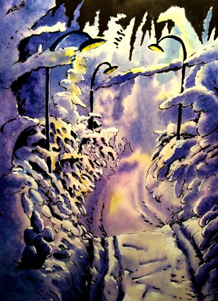 Winter by KuzAnna