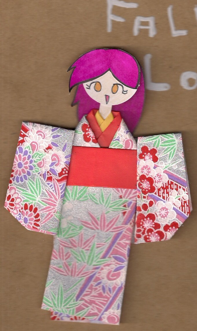 how to make origami doll