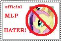 MLP HATER by vampireintherain