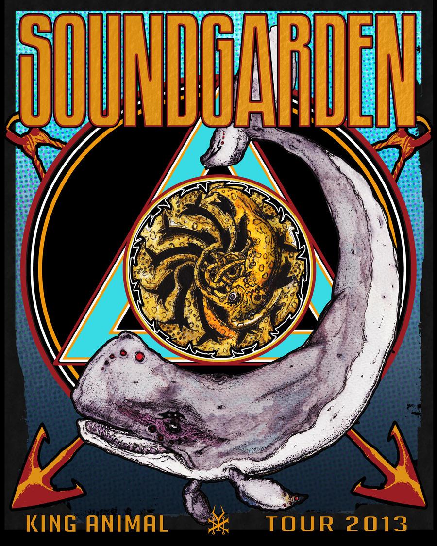 Soundgarden Tour  Shirt