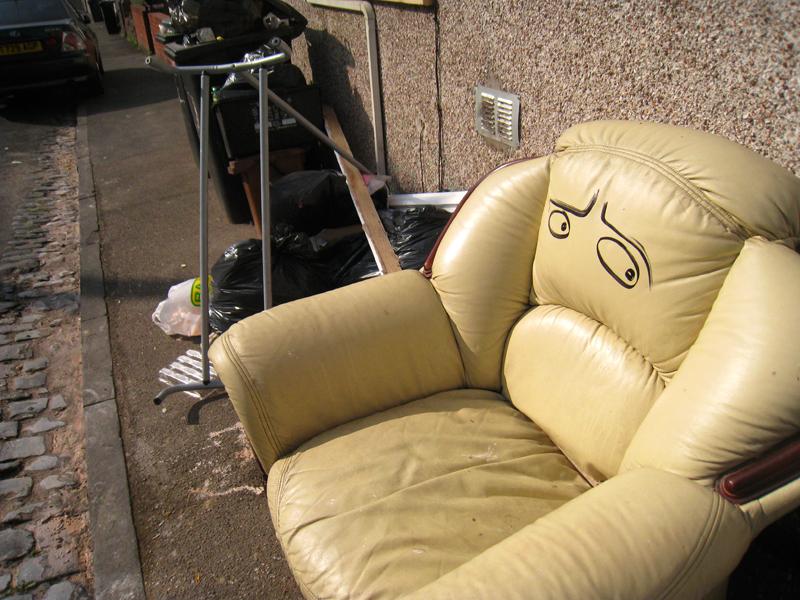 grandpas arm chair by FilthyLuker