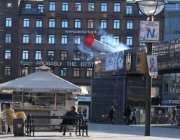 Bombing city centre by FilthyLuker